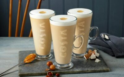 NEW LATTE+ RANGE AT COSTA COFFEE