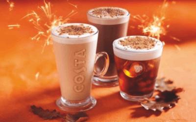 BONFIRE SPICED RANGE AT COSTA COFFEE