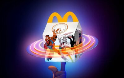 SPACE JAM HAPPY MEAL AVAILABLE NOW AT MCDONALDS